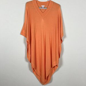 Chicos knit poncho cover up